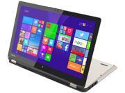 "TOSHIBA Satellite Radius P55W-B5224 Ultrabook Intel Core i7 4510U (2.00 GHz) 1 TB HDD Intel HD Graphics 4400 Shared memory 15.6"" Touchscreen Windows 8.1"
