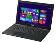 "ASUS Laptop X75A-DS51 Intel Core i5 3230M (2.60GHz) 8GB Memory 750GB HDD Intel HD Graphics 4000 17.3"" Windows 8 64-Bit"