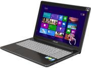 "ASUS Q550LF-BBI7T07 Notebook Intel Core i7 4500U (1.80GHz) 8GB Memory 1TB HDD NVIDIA GeForce GT 745M 15.6"" Touchscreen Windows 8 64-bit"