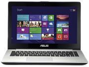 "Asus VivoBook V451LA-DS51T 14"" Touchscreen Notebook - Intel Core i5 i5-4200U 1.60 GHz - Silver Aluminum"