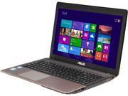 """ASUS Laptop K55A-RHI5N13-8G Intel Core i5 3210M (2.50GHz) 8GB Memory 750GB HDD 15.6"""" Windows 8 64-bit"""
