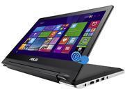"ASUS Transformer Book Flip TP300LA-DS31T Laptop Intel Core i3 4030U (1.90GHz) 4GB Memory 500GB HDD Intel HD Graphics 4400 Shared memory 13.3"" Touchscreen Windows 8.1 64-Bit"