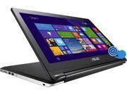 "Asus Transformer Book Flip TP500LA-DS71T Tablet PC - 15.6"" - Wireless LAN - Intel Core i7 i7-5500U 2.40 GHz - Black"