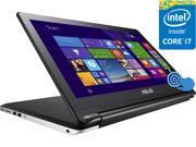 "ASUS Transformer Book Flip TP500LA-DS71T Laptop Intel Core i7 5500U (2.40 GHz) 8 GB Memory 1 TB HDD Intel HD Graphics 5500 15.6"" Touchscreen Windows 8.1 64-Bit"