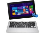 "ASUS Transformer Book T200TA-B1-BL Tablet Intel Atom Z3775 (1.46GHz) 2GB Memory 32GB SSD Intel HD Graphics Shared memory 11.6"" Touchscreen Windows 8.1 32-Bit"