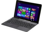 "Asus Transformer Book T100 10.1"" 2-in-1 Tablet with Dock, Quad Core Intel Atom Bay Trail Z3735F 1.33Ghz (1.83Ghz Burst), 2GB Memory, 32GB Storage, Windows 8.1, Certified Refurbished"