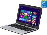 "ASUS Laptop Intel Core i7 4500U (1.80 GHz) 6 GB Memory 750 GB HDD 14.1"" Touchscreen Windows 8 64-Bit"