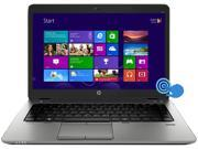 "HP EliteBook 840 G1 (E3W26UT#ABA) Ultrabook Intel Core i5 4200U (1.60GHz) 8GB Memory 180GB SSD Intel HD Graphics 4400 Shared memory 14"" Touchscreen Windows 8 Pro 64-bit"
