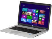 "HP Laptop ENVY 17-j120us Intel Core i7 4700MQ (2.40GHz) 12GB Memory 1TB HDD Intel HD Graphics 4600 17.3"" Windows 8.1"
