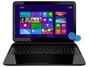 "HP Laptop TouchSmart 15-D069WM (F5Y20UAR#ABA) Intel Core i3 3110M (2.40GHz) 6GB Memory 500GB HDD Intel HD Graphics 4000 15.6"" Touchscreen Windows 8.1 64-Bit"