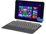 "HP Pavilion X2 10-k010nr Intel Atom Z3736F (1.33GHz) 2GB Memory 32GB SSD 10.1"" Touchscreen Detachable 2-in-1 Laptop Windows 8.1 with Bing  Includes Office 365 Personal for 1 Year"