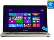 """Lenovo IdeaPad U310 (59365302) Intel Core i5 4GB 13.3"""" Touchscreen Ultrabook Graphite Gray"""