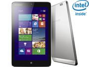 "Lenovo IdeaTab Miix 8 Intel Atom Z3740 2GB LPDDR Memory 32GB 8.0"" Touchscreen Tablet Windows 8.1"