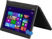 "ThinkPad Yoga 20CD00BAUS Intel Core i5 4200U (1.60GHz) 4GB Memory 500GB + 16GB SSHD HDD 12.5"" Touchscreen Ultrabook Windows 8.1"