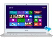 "Acer S7 Intel Core i5 4200U (1.60GHz) 8GB DDR3 128GB SSD 13.3"" FHD Touch Ultrabook White (S7-392-6832)"