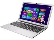 "Acer Laptop Aspire V5 V5-571P-6490 Intel Core i3 2375M (1.50GHz) 4GB Memory 500GB HDD Intel HD Graphics 3000 15.6"" Touchscreen Windows 8 64-bit"