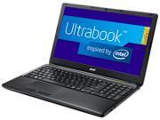 "Acer TravelMate TMP455-M-6623 (NX.V8MAA.004) Intel Core i5 4200U (1.60GHz) 8GB Memory 128GB SSD 15.6"" Ultrabook Windows 7 Professional 64-bit"