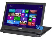 "Lenovo Laptop Flex 2 15 (59422542) Intel Core i3 4030U (1.90GHz) 4GB Memory 500GB HDD 8GB SSD Intel HD Graphics 4400 15.6"" Touchscreen Windows 8.1"