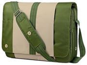 "HP Carrying Case (Messenger) for 16.1"" Notebook - Leaf Green"
