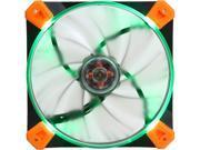 Antec TrueQuiet 120 UFO Gr 120mm Green LED Case Fan