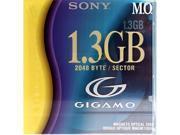 "SONY EDMG13C/EJ 1.3GB MO 3.5"" MAGNETO OPTICAL DISKS 1 Pack"