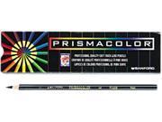 Prismacolor 3363 Premier Colored Pencil, Black Lead/Barrel, Dozen