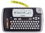 Casio KL-120L KL-120 Label Maker, 1 Lines, 7-1/2w x 4-1/2d x 2-1/5h