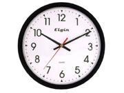 Geneva 3980GG Black 14 inch Quartz Analog Wall Clock