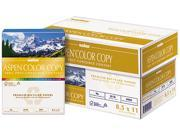 Boise ACC2811 ASPEN Color Copy Paper, 96 Brightness, 28lb, 8-1/2 x 11, White, 500 Sheets/Ream