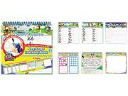 The Board Dudes 11210VA-4 SmartDudes Printing Learning Book, Cursive, Six Pages, Grade 3 and Up