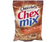 General Mills SN16795 Chex Mix Chocolate Peanut Butter, 4.5 oz., 7/Box