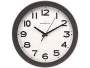 Howard Miller 625-485 Kenwick Wall Clock, 13-1/2in, Black