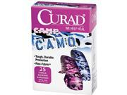 """Kids Adhesive Bandages, Pink and Blue Camouflage, 3/4"""" x 3"""", 25/Box"""