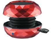 iHome IBT65RC Red Bluetooth Mini Speaker