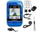 "GARMIN Edge 510 2.2"" Cycling GPS Navigation Team Garmin Bundle"