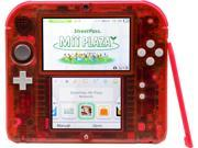 Nintendo Crystal Red 2DS