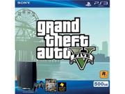 PlayStation 3 500GB Grand Theft Auto V Bundle