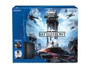 PlayStation 4 Console - The Star Wars Battlefront 500GB Bundle
