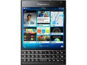 BlackBerry Passport Black 3G 4G LTE Quad-Core 2.26 GHz Unlocked GSM BlackBerry 10.3 OS Cell Phone