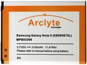 Arclyte Black 3100 mAh Cell Phone Battery MPB03599