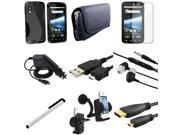 Insten For Motorola Atrix 4G MB860 Cell Phone Accessory Bundle 3FT HDMI Cable