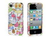 Apple iPhone 4S/iPhone 4 Happy Playground Design Crystal Rubberized Case
