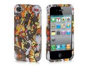 Apple iPhone 4S/iPhone 4 Rocket Man Design Crystal Rubberized Case