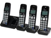 Panasonic KX-TGE234B 4 Handset Cordless Phone