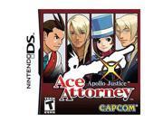 Ace Attorney: Apollo Justice Nintendo DS Game