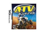 ATV Wild Ride Nintendo DS Game