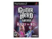 Guitar Hero Encore: Rocks the 80s Game