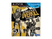 House of the Dead: OVERKILL Extended Cut Playstation3 Game