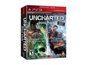 Uncharted 1 & 2 Double Pack Playstation3 Game