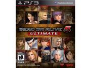 Dead or Alive 5 Ultimate PS3 Game